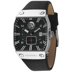 Diesel DZ9012 Uhrenarmband Leder Schwarz