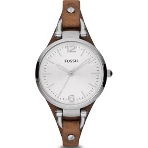 Fossil ES3060 Uhrenarmband Leder Braun