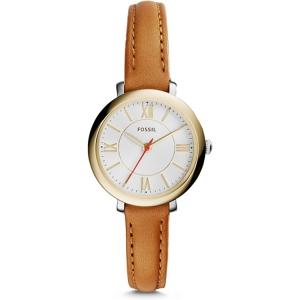 Fossil ES3801 Uhrenarmband Leder Braun