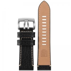 Luminox Field 1860 1861 Uhrenarmband Leder Schwarz 26mm - FE.1860.20Q