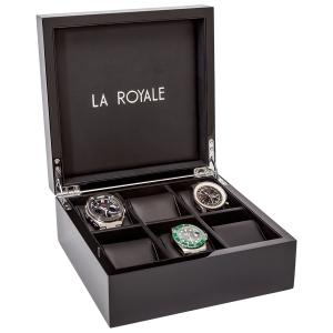 La Royale Felice Klavierlack Uhrenbox - 6 Uhren