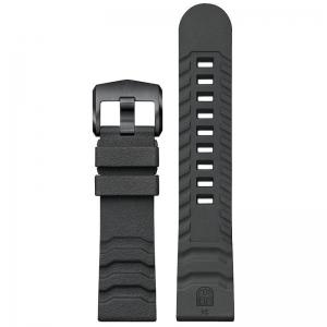 Luminox 3600 3800 Serie Uhrenarmband Kautschuk Dunkelgrau 24mm - FP.3800.22B