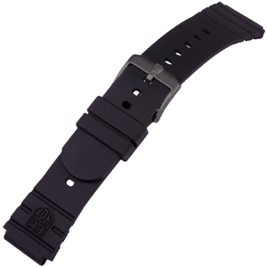 Luminox 3001 Black Out Uhrenarmband Original Navy SEAL Gummi - FP.3000.21HPL