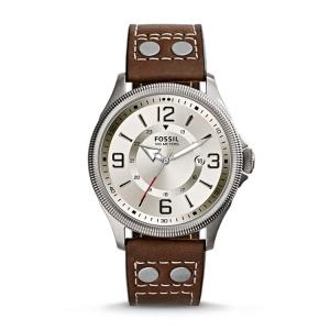 Fossil FS4936 Uhrenarmband Leder Braun