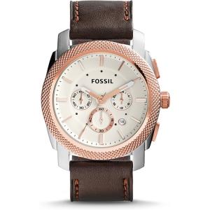 Fossil FS5040  Uhrenarmband Leder Braun