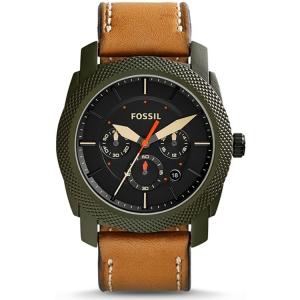 Fossil FS5041 Uhrenarmband Leder Braun