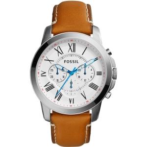 Fossil FS5060 Uhrenarmband Leder Braun