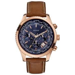Guess Uhrenarmband W0500G1 - Braunes Leder