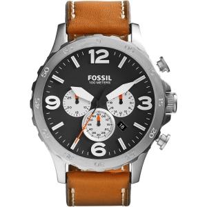 Fossil JR1486 Uhrenarmband Leder Braun