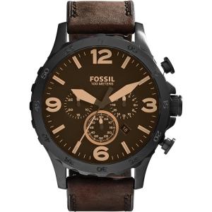 Fossil JR1487 Uhrenarmband Leder Braun
