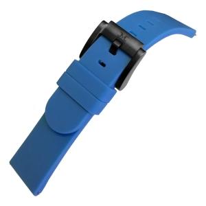 Marc Coblen / TW Steel Silikon Uhrenarmband Blau 22mm