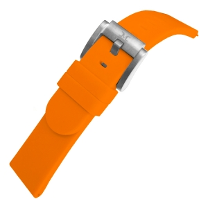 Marc Coblen / TW Steel Gummi Uhrenarmband Orange 22mm