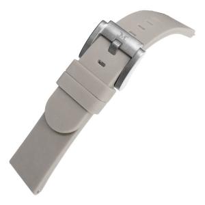 Marc Coblen / TW Steel Gummi Uhrenarmband Grau 22mm