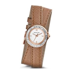 Michael Kors MK2338 Uhrenarmband Leder Braun