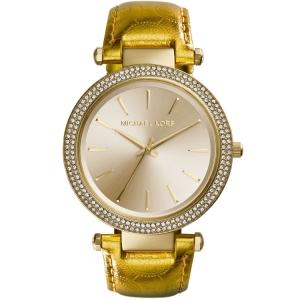 Michael Kors MK2351 Uhrenarmband Leder Gold