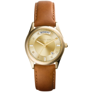Michael Kors MK2374 Uhrenarmband Leder Braun