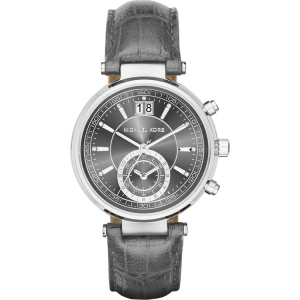 Michael Kors MK2432 Uhrenarmband Leder Grau