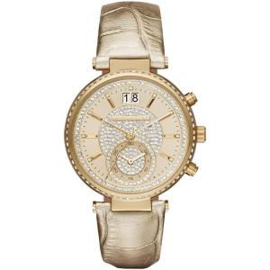 Michael Kors MK2444 Uhrenarmband Leder Gold