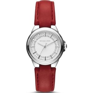 Michael Kors MK2474 Uhrenarmband Leder Rot