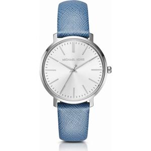 Michael Kors MK2495 Uhrenarmband Leder Blau