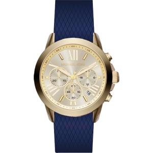 Michael Kors MK2556 Uhrenarmband Gummi Blau