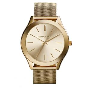 Michael Kors MK5938 Uhrenarmband Mesh (Milainese) Gold