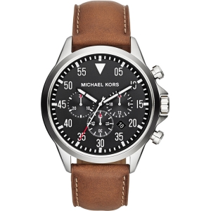 Michael Kors MK8333 Uhrenarmband Leder Braun