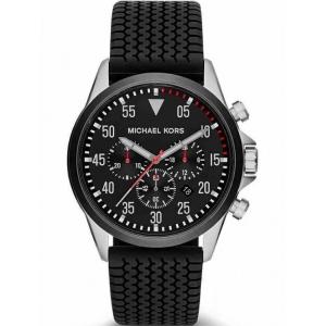 Michael Kors MK8334 Uhrenarmband Gummi Schwarz