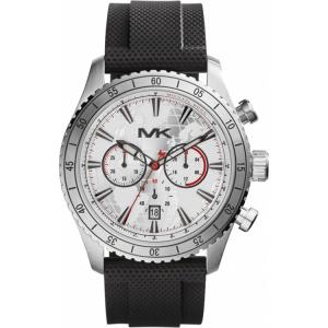 Michael Kors MK8353 Uhrenarmband Gummi Schwarz