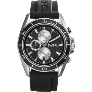 Michael Kors MK8355 Uhrenarmband Gummi Schwarz
