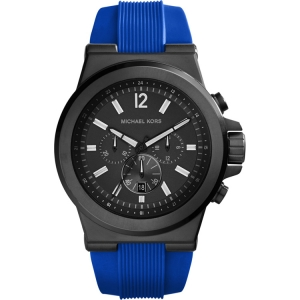 Michael Kors MK8357  Uhrenarmband Gummi Blau