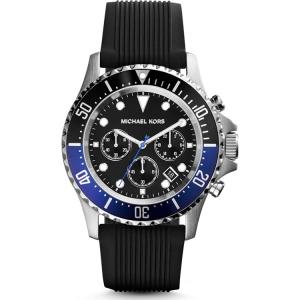 Michael Kors MK8365 Uhrenarmband Gummi Schwarz