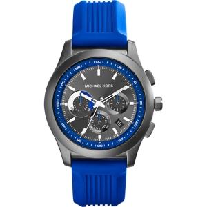 Michael Kors MK8375 Uhrenarmband Gummi Blau