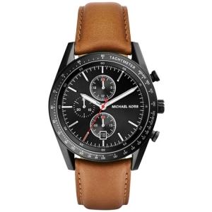 Michael Kors MK8385 Uhrenarmband Leder Braun