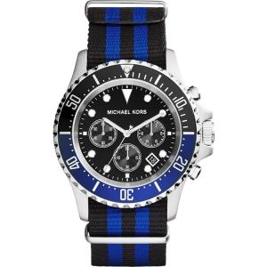 Michael Kors MK8398 Uhrenarmband Nylon Blau