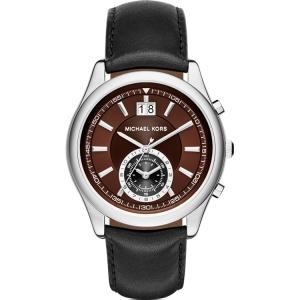 Michael Kors MK8415 Uhrenarmband Leder Schwarz