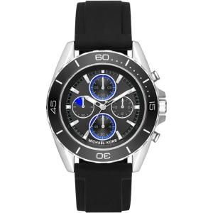 Michael Kors MK8485 Uhrenarmband Gummi Schwarz