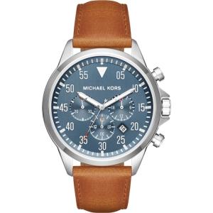 Michael Kors MK8490 Uhrenarmband Leder Braun