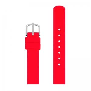 Picto Uhrenarmband Gummi Rot - 43366 - 12mm