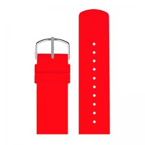 Picto Uhrenarmband Gummi Rot - 43368 - 22mm
