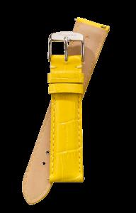 Fromanteel Alligatorgrain Uhrenarmband Gelb