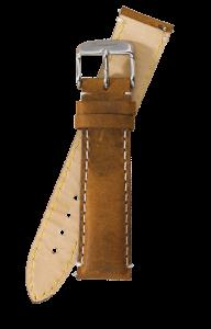 Fromanteel Vintage Leder Uhrenarmband Hellbraun L/XL