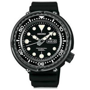 Seiko Prospex Uhrenarmband SBBN011J Gummi Schwarz