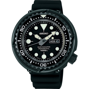 Seiko Prospex Uhrenarmband SBBN013J Gummi Schwarz