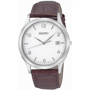 Seiko Uhrenarmband SGEE09P1 Leder Braun