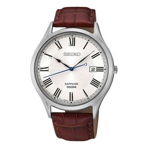 Seiko Quartz Uhrenarmband SGEG97 Leder Braun