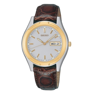 Seiko Uhrenarmband SGF578 Leder Braun