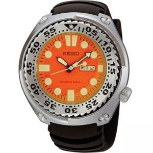 Seiko Sawtooth Uhrenarmband SHC067 und SHC059 Gummi Schwarz