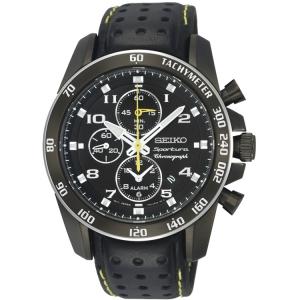 Seiko Sportura Uhrenarmband SNAE67P1 Leder Schwarz