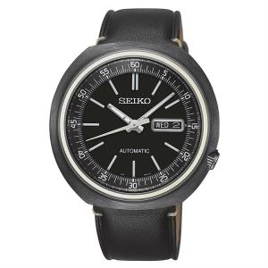 Seiko Recraft Automatic Uhrenarmband SRPC15K1 Leder Schwarz